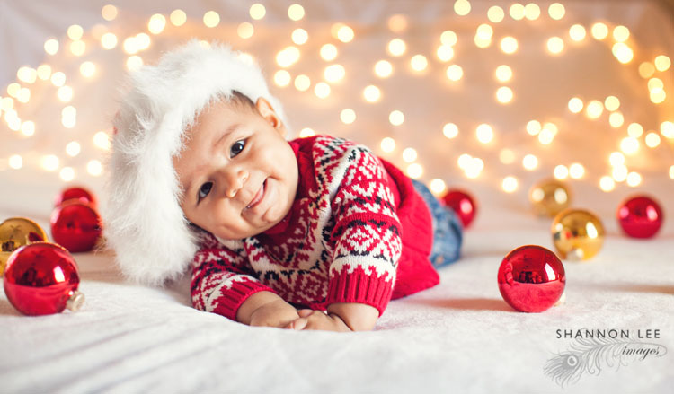 Newborn Holiday Photography