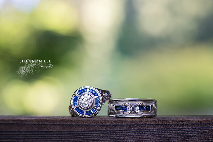 katie jimmys hakone japanese garden wedding in saratoga los - R2d2 Wedding Ring