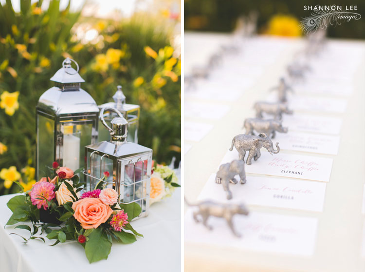 zoo themed wedding