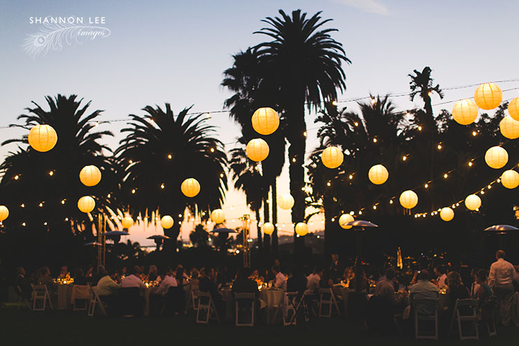santa barbara zoo wedding reception